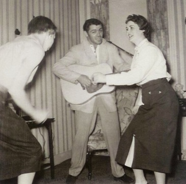 Image result for rockabilly charlie feathers